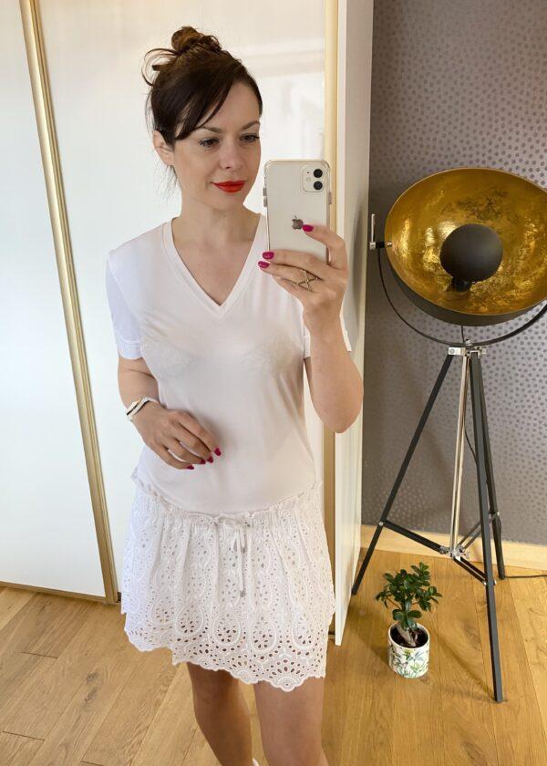 Sukienka biała od Bunny The Star