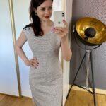 Sukienka w pepitę