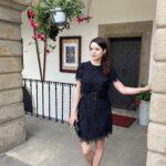Piórkowa sukienka z kolekcji Aneta Kręglicka