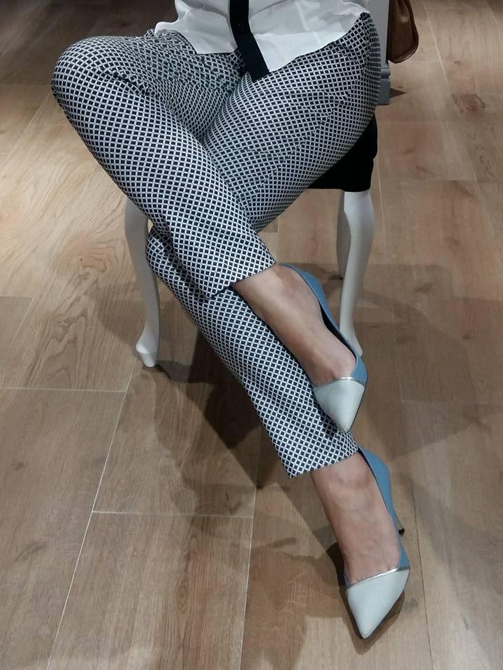 Spodnie krata